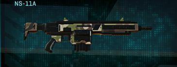 Woodland assault rifle ns-11a