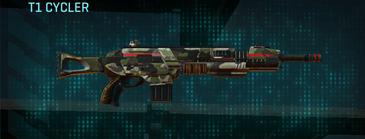Woodland assault rifle t1 cycler