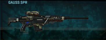Woodland sniper rifle gauss spr