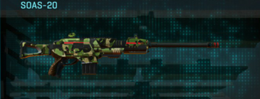 Jungle forest scout rifle soas-20