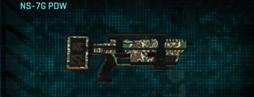 Scrub forest smg ns-7g pdw