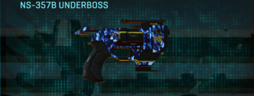 Nc digital pistol ns-357b underboss