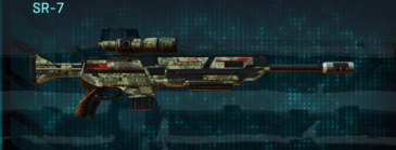 Pine forest sniper rifle sr-7