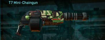 African forest heavy gun t7 mini-chaingun