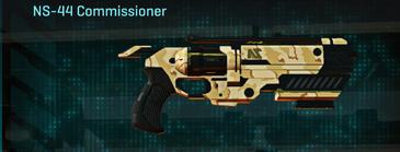 Sandy scrub pistol ns-44 commissioner