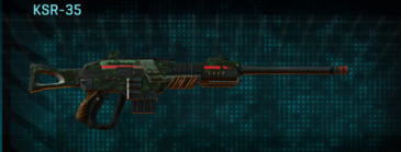Clover sniper rifle ksr-35