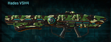 African forest rocket launcher hades vsh4