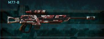 Tr urban forest sniper rifle m77-b