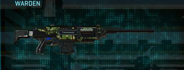 Jungle forest battle rifle warden