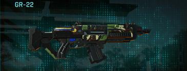 African forest assault rifle gr-22