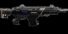 Gauss Rifle Burst