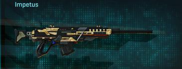 Sandy scrub sniper rifle impetus