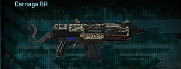 Arid forest assault rifle carnage br