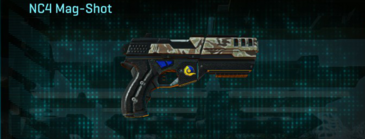 Arid forest pistol nc4 mag-shot