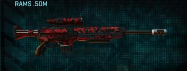 Tr alpha squad sniper rifle rams .50m