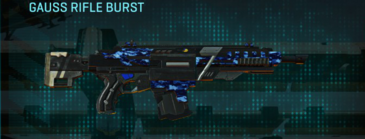 Nc digital assault rifle gauss rifle burst