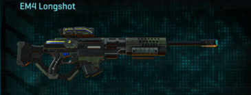 Amerish scrub sniper rifle em4 longshot