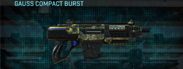 Pine forest carbine gauss compact burst