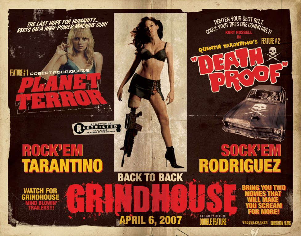 Grindhouse Planet Terror Death Proof Planet Terror And Death Proof