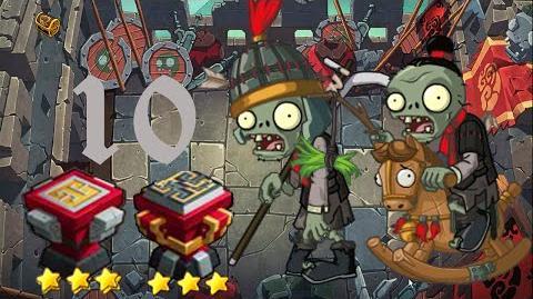 PvZ Online - Adventure Mode - Battle of the Great Wall 10