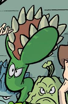File:PvZO Venus Flytrap in a comic.png