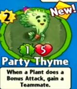 Receiving Party Thyme