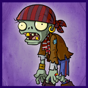 PvZ2 Pirate Zombie