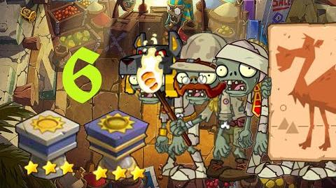 PvZ Online - Adventure Mode - Egyptian Market 6