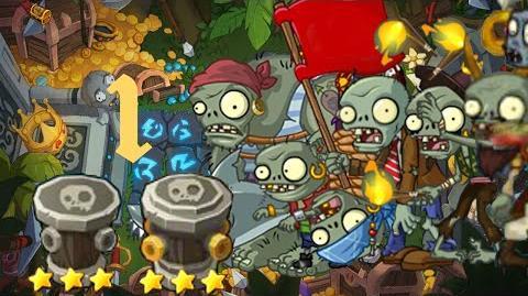 PvZ Online - Adventure Mode - Treasure Island 1