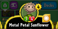 Metal Petal Sunflower