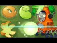 Citron v.s. robo cone zombie