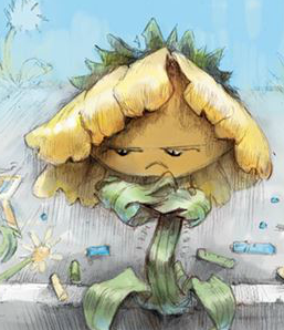File:Sunflower from the Grumpy Sunflower.png