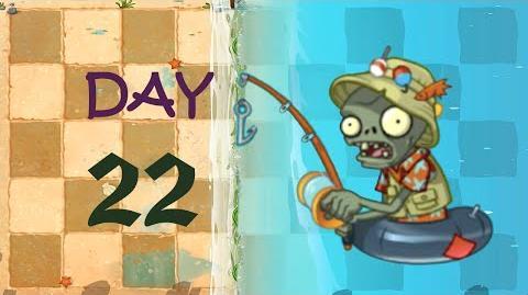 Big Wave Beach Day 22. Zombies 2 - Big Wave Beach Day 22