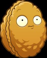File:Plants vs zombies 2 wallnut the wallnut by illustation16-d7h6dbz.png