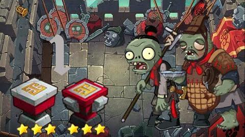 PvZ Online - Adventure Mode - Battle of the Great Wall 1