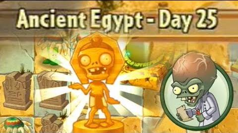 Ancient Egypt Day 25 - Plants vs Zombies 2 Its About Time