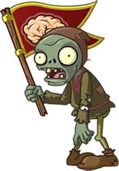 File:Peasant Flag Zombie with red flag.png