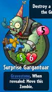 Receiving Surprise Gargantuar