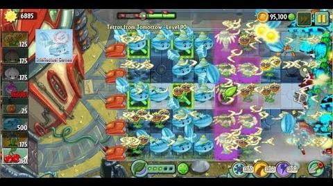 Terror From Tomorrow Level 90 Bloomerang Boost Power Tiles Plants vs Zombies 2 Endless GamePlay
