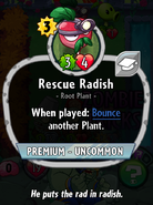 Rescue Radish Description