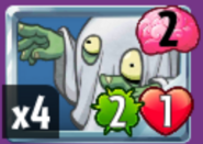 Haunting Zombie card
