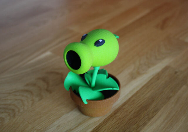 File:3D printed Peashooter.jpeg