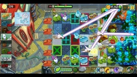 Terror From Tomorrow Level 88 No Premium Plants Plants vs Zombies 2 Endless GamePlay