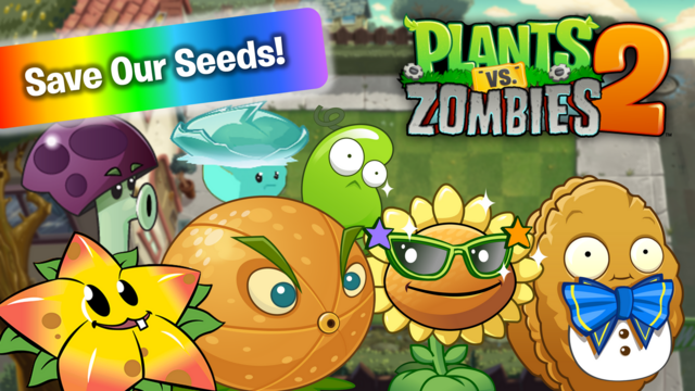 File:PvZ2 MultipleSaveOurSeeds WallpaperbyKh07.png