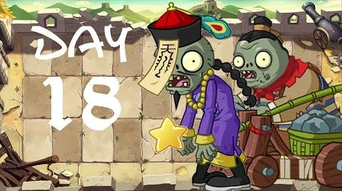PvZ All Stars - Great Wall of China Day 18