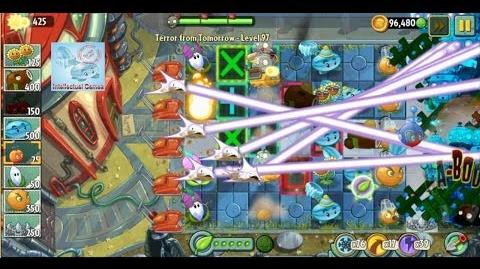 Terror From Tomorrow Level 97 Plants vs Zombies 2 Endless GamePlay