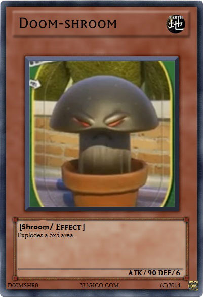 User Blog Itsleo20 Yu Gi Oh Cards Plants Vs Zombies