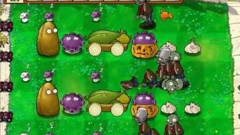 Plants vs Zombies - Survival Day Hard - No Sunflower