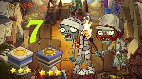 PvZ Online - Adventure Mode - Egyptian Market 7