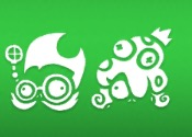 Professor Brainstorm and Neptuna icons
